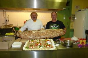 Repas organisé par Michel Ben et ses amis